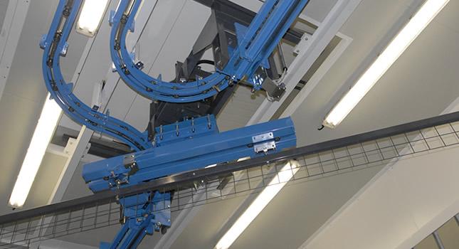 Power & free two-rail conveyor XD37/45-01